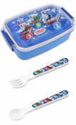 Thomas and Friends - Set of Three - Thomas, Percy, James Lunch (Bento) Box, Spoon and Fork