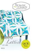 Metro Lattice Quilt Pattern