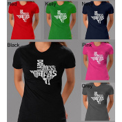 Los Angeles Pop Art Women's 'Don't Mess With Texas' T-shirt