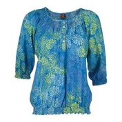 Women's Ojai Clothing Easy Henley Casitas Blue
