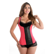 Fiorella Shapewear Sports Latex Vest Waist Cincher Trainer Corset Pink Fajas Chaleco Deportivo Reductoras Rosa Colombianas