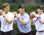 Archie Manning + Eli and Peyton Autograph REPRINT 8 x 10 / 8x10 GLOSSY Photo Picture