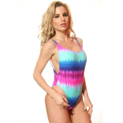 Dippin Daisy's Tie-Dye High Cut Vintage Swimsuit