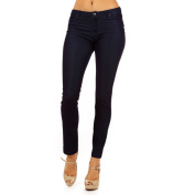 Dinamit Women's Golden Tight Knitted Texture Pants