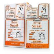 3Step Bergamo Mask Pack - Snail, 10pcs
