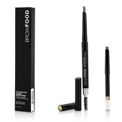 BrowFood Eco Precision 2 Tone Brow Pencil With Extra Refill - #Brunette, 2x0.4g0ml