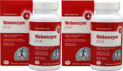 Wobenzym Plus Systemic Enzymes 120 ct - 2 Pack