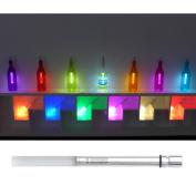 di Potter AC116 Decorative Vivi LED Multi Colour Bottle Light, Coloured