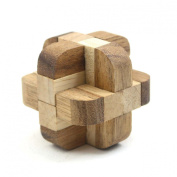Diamond Cube Tactile Wooden Puzzle