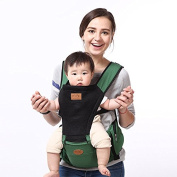 Former hug baby carrier waist stool multifunctional baby carrier,green