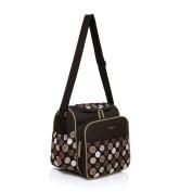 Mengma Large capacity floral pattern multifunctional waterproof nappy bag Mothers shoulder bag khaki
