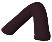 V Pillow Case Polycotton Back And Neck Support V Shaped Orthopaedic By *Textile.Plus*