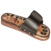Leather Stone Accupressure and Reflexology Sandals