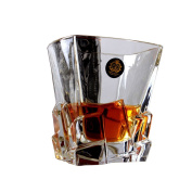 Old Fashioned Distinctive Clear Scotch/Whiskey Glass Wine Cup,E