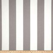 Premier Prints Indoor/Outdoor Vertical Stripe Grey Fabric