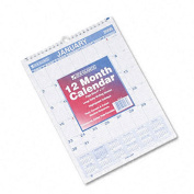 At-A-Glance Ruled Daily Blocks Wire-Bound Monthly Wall Calendar