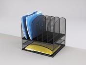Safco Mesh 8-section Desk Organiser