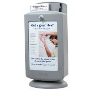 Safco Grey Customizable Suggestion Box
