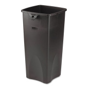 Rubbermaid Commercial Black 87.1lUntouchable Waste Container