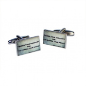 Change Your Thoughts and You Change Your World Cufflinks X2BOCR129