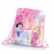 Disney Princess Drawstring Trainer / Gym / PE / Shoe / Swim School Bag Children Kids Girls 600-065