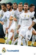 Poster - Soccer - Real Madrid - Group New Wall Art 60cm x 90cm rp14326