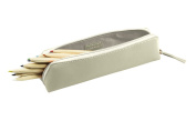 Lucrin - Pencil Case - Off-White - Smooth Leather
