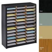 Safco 36 Compartment Value Sorter Literature Organiser