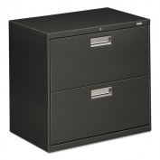 HON 600 Series Charcoal 2-drawer Lateral File