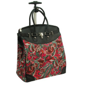 Rollies Paisley Rolling 36cm Laptop Travel Tote Bag