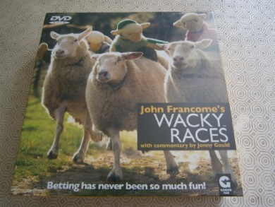 John Francome's Wacky Races DVD Race Game by Ginger Fox