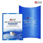 [SNP Cosmetic] Bird's Nest Aqua Ampoule Mask (10ea (Box Case)) by My Beauty Diary