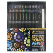 Chameleon Colour Tones Deluxe Set Of 22 Double-Ended Brush Pens