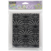 Hero Arts Cling Stamps 11cm x 16cm -Tropical Background