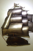 Metal Wall Art - Imperial Galleon Small