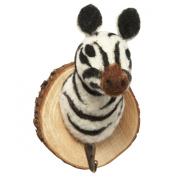 Woodland Felt Zebra Trophy Hook