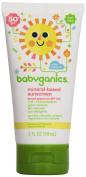BabyGanics - Sunscreen Mineral Based Broad Spectrum Fragrance Free 50 SPF - 60ml