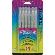 Gelly Roll Stardust Pens 6/Pkg-Clear