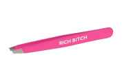 "Hot Pink ""Rich B$#@ & "" Italian Tweezers"