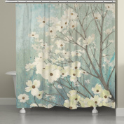 Laural Home Flowering Dogwood Blossoms Shower Curtain