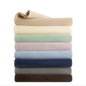 Vellux Original Solid Coloured Microplush Blanket