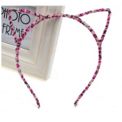 Cat Ear Girl Cute Sexy Womens Attractive Vivid Colour HeadBand Hair Band+Free Top-ishop cable tie