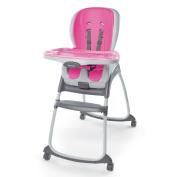 Ingenuity SmartClean Trio 3-in-1 High Chair, Magenta
