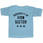 Lost Gods Property of Big Sister Toddler Graphic T Shirt - Lost Gods