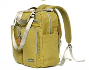 Nappy Bag Travel Backpack Shoulder Bag with Baby Changing Pad - Green