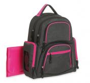 Carter's Sport Back Pack Nappy Bag, Grey/Pink