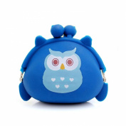 Wallet,toraway Women Cute Owl Silicone Wallet Key Pouch Coin Purse Change Bags
