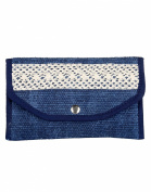 . Cotton & Durrie Blue Pouch Designer Dyed For Womens By Rajrang