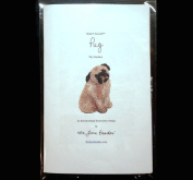 Bead It Yourself PUG Dog Pin Pendant Bead Embroidery Beading Kit by The Lone Beader
