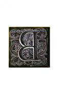 "Emco Metal Stamp ""B"" for Sealing Wax Mediaeval Floral Paisley Design 2.2cm x 2.2cm"